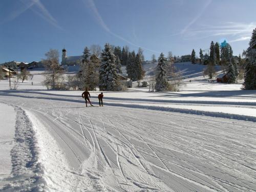 Langlauf in Sulzberg