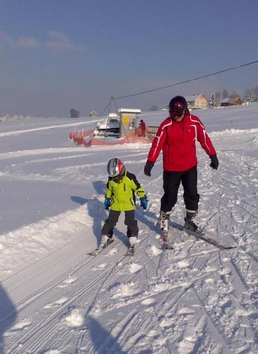 Schifahren in Sulzberg