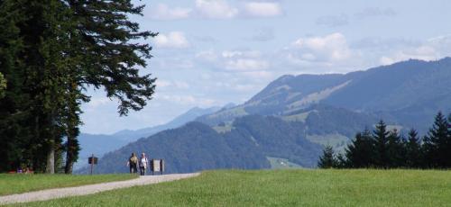 Wandern Hochsträß Sulzberg